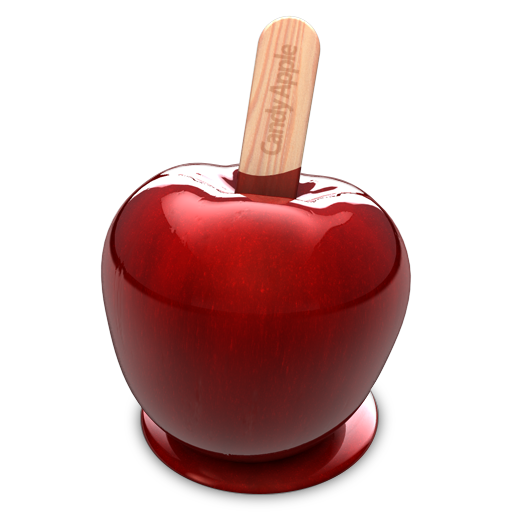 Candy Apple app icon Mac application icon