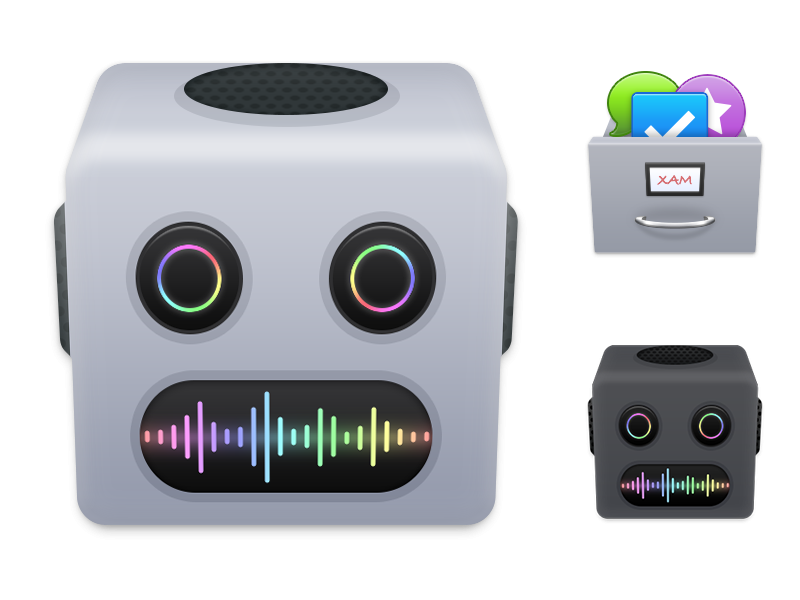 Permute 2 & XAM Application icons macOS application icons